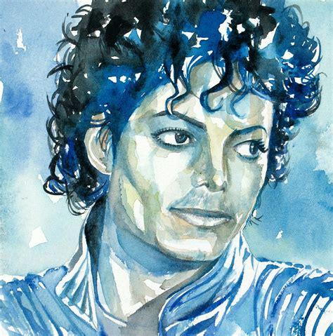 painting michael jackson michael jackson thriller portrait michael jackson fan