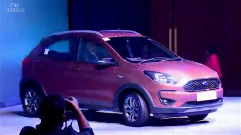 novo ford ka   novo facelift  revelado na india na versao freestyle trail top