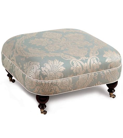Ottoman Casters Luxury Bedding By Eastern Accents Carlyle Ottoman On Casters
