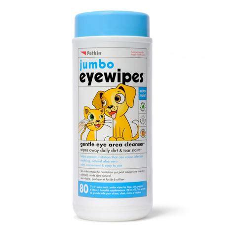 eye wipes buy petkin jumbo eye wipes pack 80