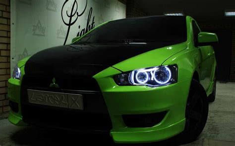 green mitsubishi lancer mitsubishi lancer review and photos