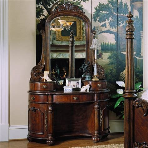 pulaski furniture edwardian vanity set