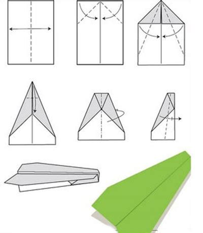 Paper Airplane Folding Template - preschool archives nuttin but preschool