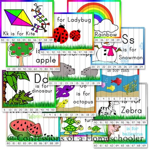 printable number puzzles for preschoolers kindergarten number order puzzles confessions of a