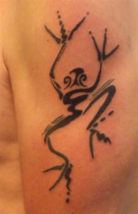tribal frog tattoo 10 beautiful tribal frog tattoos only tribal