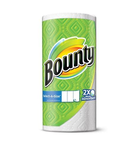 Who Makes Bounty Paper Towels - bounty select a size paper towels