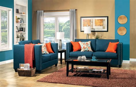 blue living room furniture ideas sofa outstanding navy blue sofa set 2017 collection blue