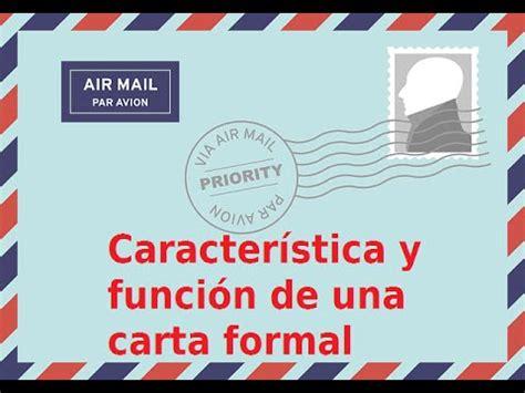funciones de la carta formal e informal c 243 mo hacer una carta formal estudia y aprende
