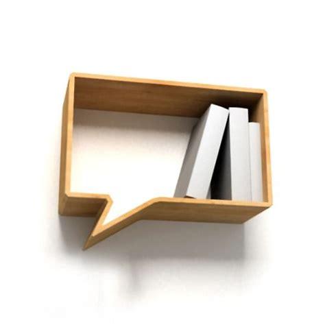 lavorare libreria display wall shelf nube de dialogo repisa de madera