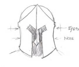 spartan helmet template how to make a spartan helmet