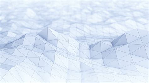 abstract blue triangle vector background stock footage