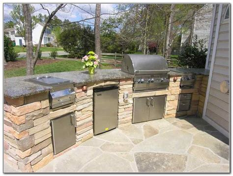 Home Rotisserie Design Ideas Outdoor Kitchens Bbq Photo Gallery Built In Barbecue Grill Outdoor Kitchen Building And Design