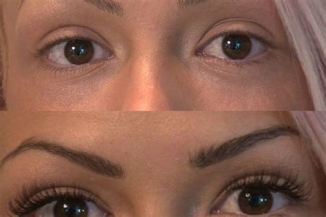 eyelash extensions on older women eyelashes before and after
