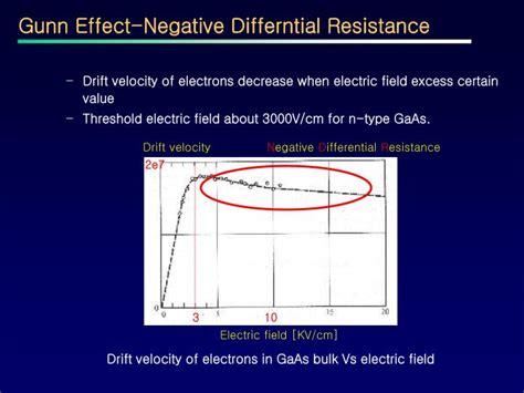 gunn effect diode ppt ppt the gunn diode powerpoint presentation id 3766133