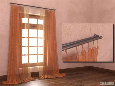 curtain rod installers how to install curtain rods 11 steps with pictures