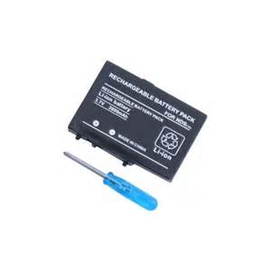 rechargeable battery for nintendo ds lite rechargeable