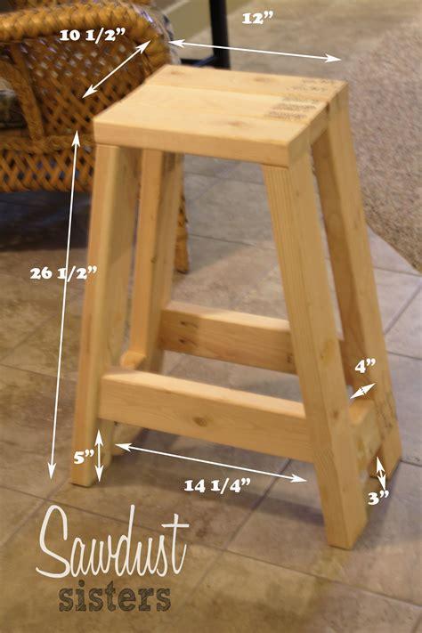 build  barstool   xs diy bar stools wood