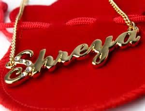 Personalised Name Necklace Pin Name Shreya On Pinterest