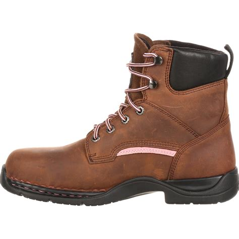 comfortable metatarsal boots women s lace up internal metatarsal work boot john deere