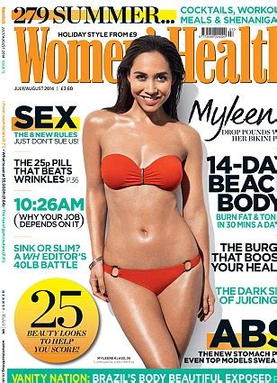 how myleene gets that of two reveals diet and exercise secrets daily