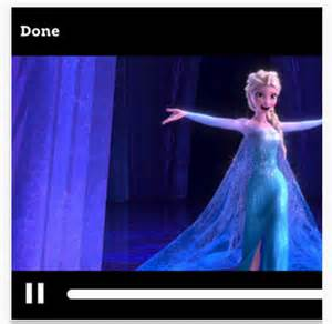 And it looks like frozen is available for preorder with this app as
