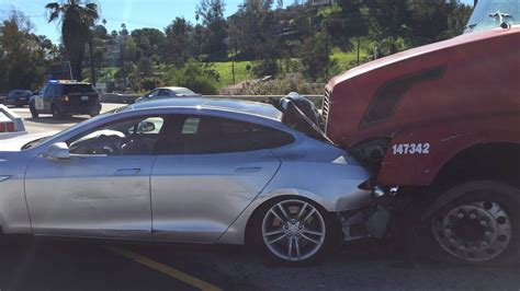 we talked to the tesla model s driver rear ended by a 40
