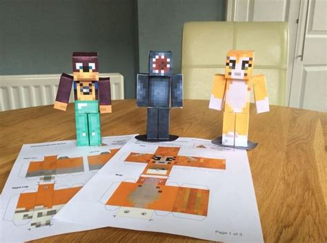 Minecraft Papercraft Iballisticsquid - papercraft and minecraft on