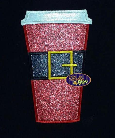 mug design machine adorable santa santabucks coffee cup mug machine applique
