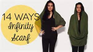 How To Wear Infinity Scarves 14 Ways To Wear An Infinity Scarf