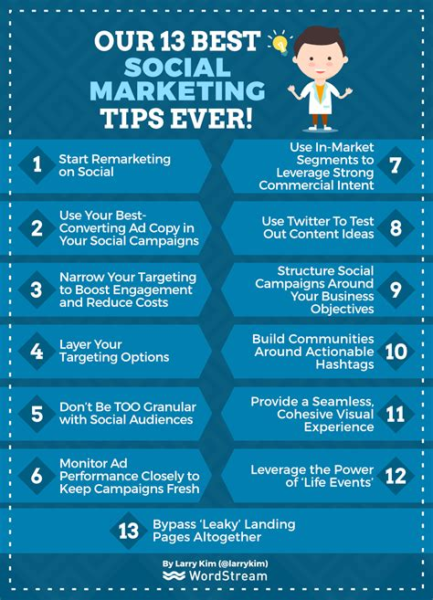 best marketing our 13 best social media marketing tips wordstream