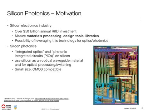 what is photonic integrated circuits silicon electronic photonic integrated circuits siepic researc