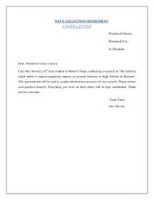 sample research questionnaire cover letter 3 - Sample Questionnaire Cover Letter
