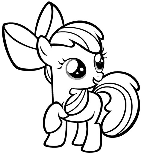 mlp coloring book free coloring pages of blank pony