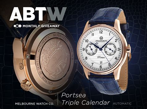 Watch Giveaway - watch giveaway melbourne watch company portsea automatic ablogtowatch