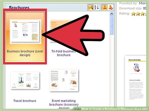word 2010 tutorial make a brochure in 10 min youtube