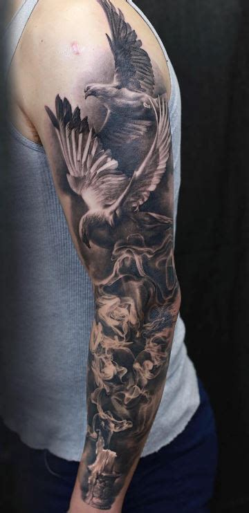awesome arm sleeve tattoo inkstylemag