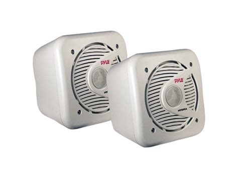 surface mount boat speakers pyle 5 25 quot marine surface mount speakers