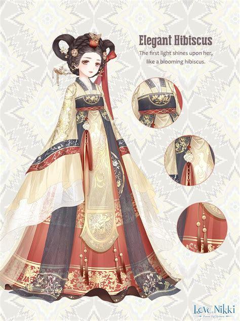 elegant hibiscus love nikki dress  queen wiki fandom