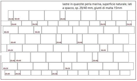 schema posa piastrelle schemi di posa piastrelle 30x60 a bordo arrotondato with