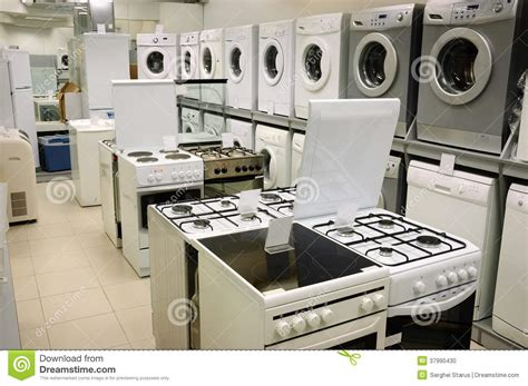 home appliance store stock photo image 37990430