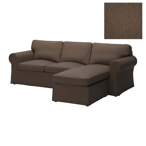 ikea ektorp loveseat with chaise slipcover 2 seat sofa w