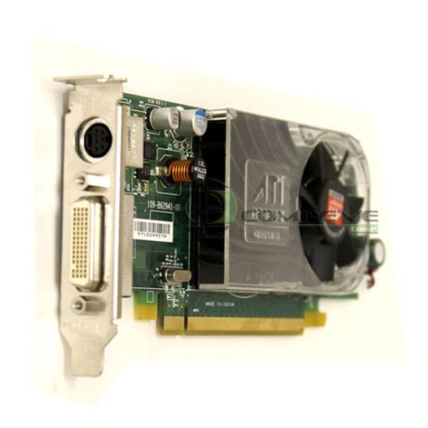 Laptop Dell Ati Radeon ati radeon hd 3450 256mb ddr2 card dell y104d hd 3450 14 00 professional multi