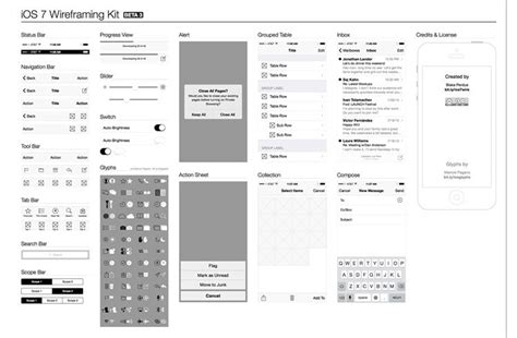wireframe illustrator template 30 free web and mobile wireframe templates