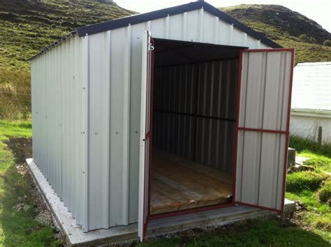 Metal Garden Shed With Base by Garden Sheds Kp Engineeringkp Engineering