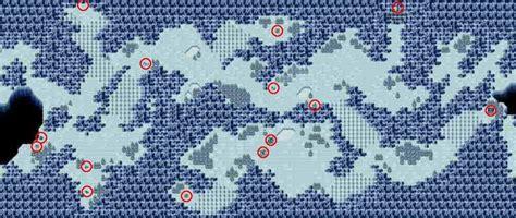 Phantasy Star World Map by Phantasy Star Cave Dezolis