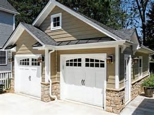 detached garage design ideas garages exterior home renovation contractor classic