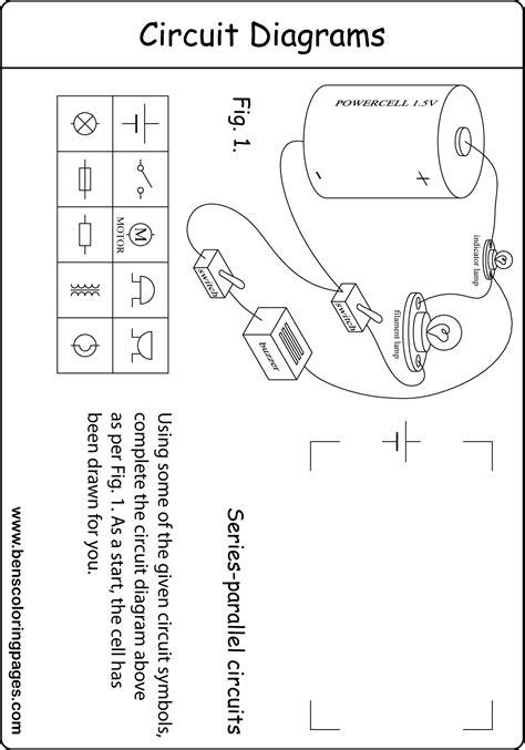 a parallel circuit diagram series parallel circuit diagram excercise