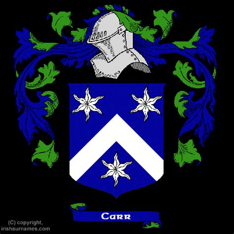 the carr family records embracing the record of the families who settled in america and their descendants with many branches who came to this country at a later date classic reprint books carr coat of arms family crest and carr family history