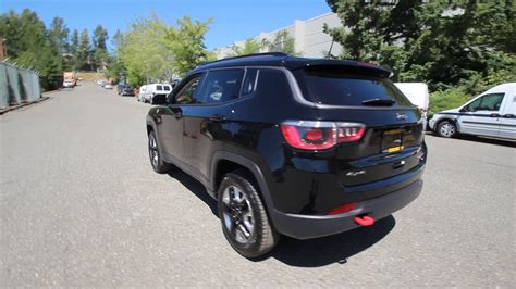 jeep compass trailhawk 2017 black 2017 jeep compass trailhawk black ht668103