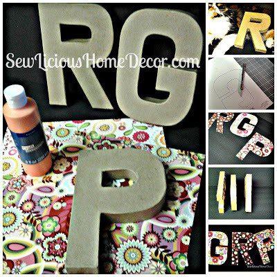 Lettering Oversized Top oversized decorative letters favecrafts